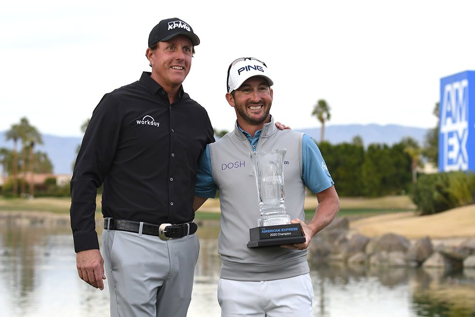 Phil Mickelson and Andrew Landry