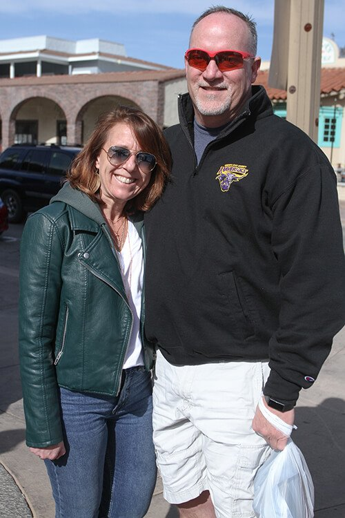Tracy and Jim Masker